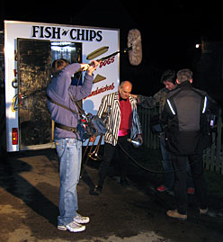 Fish and Chip van tour © Simon Thackray